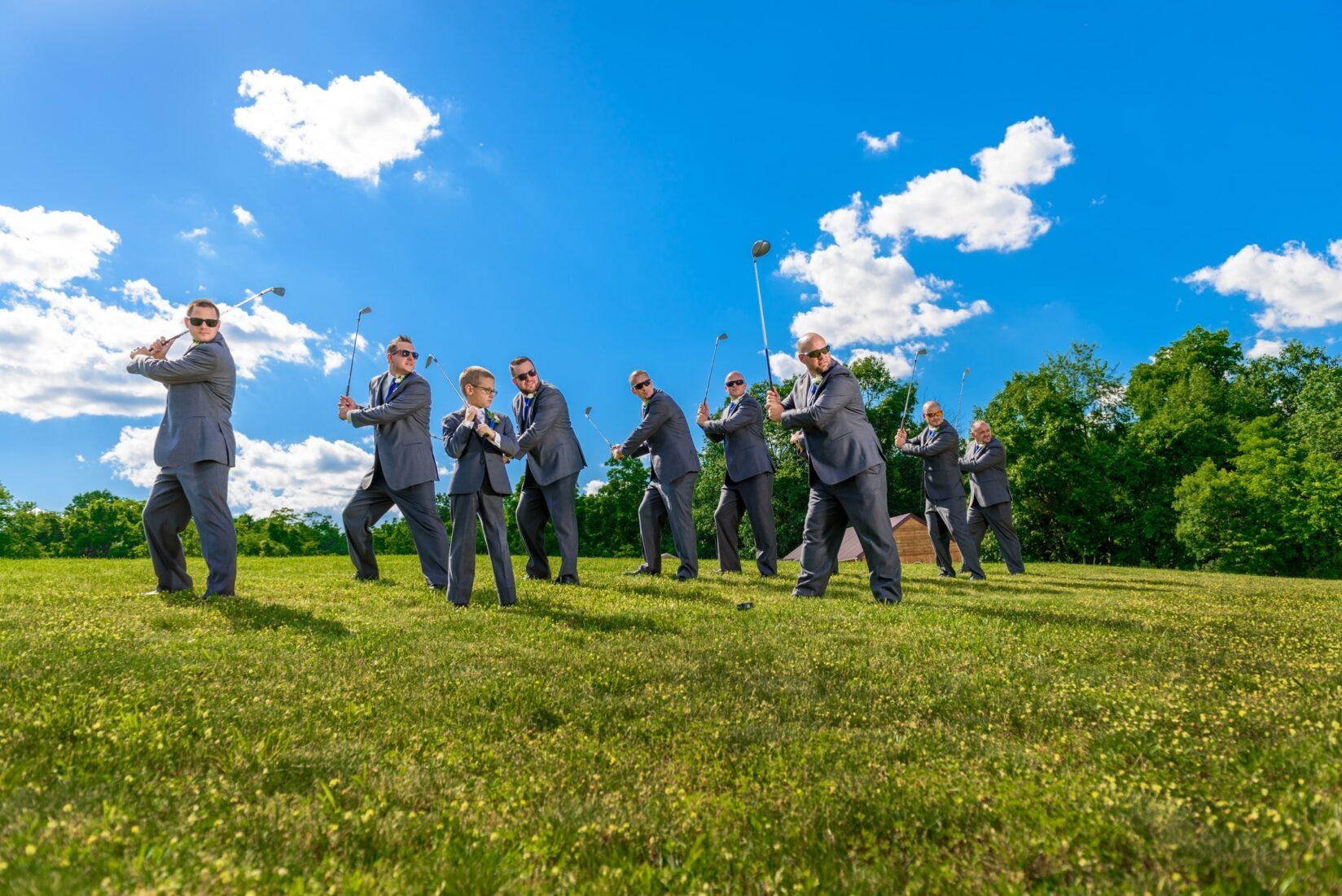 Wedding Photography Groom Portrait Pennsylvania